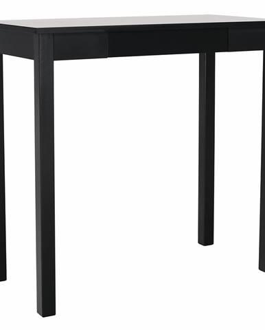 Konzolový stolík čierna AMYNTAS rozbalený tovar