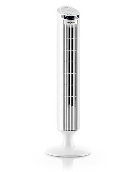 OneConcept OneConcept Blitzeis, stĺpový ventilátor, 50 W, 45° oscilácia, biely