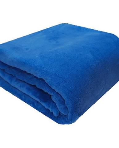 Deka modrá 150x200