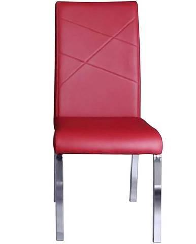 Stolička Komfort červená Tc-1224