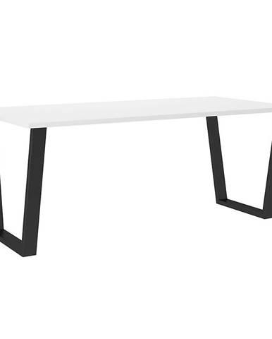 Stôl Cezar 185x67 – Biela
