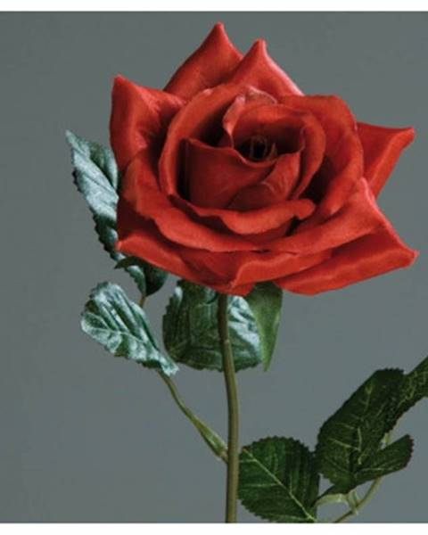ASKO - NÁBYTOK Umelý kvet Ruža, červená%