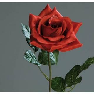 Umelý kvet Ruža, červená%