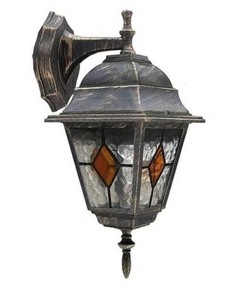 Rabalux Vonkajšie nástenné svietidlo Rabalux Monaco 8181 antická zlatá
