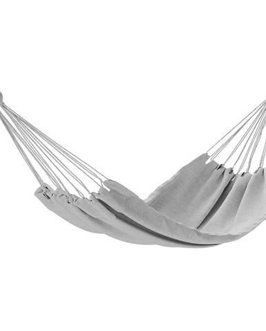 AmeliaHome Hojdacie závesné ležadlo Colada sivá, 240 x 80 cm
