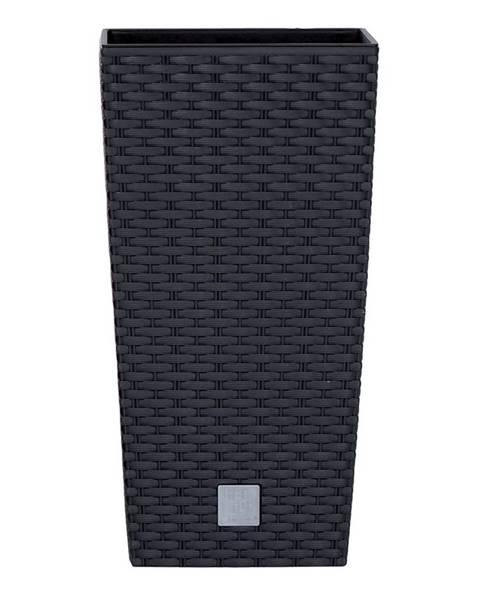 Orava Prosperplast Obal RATO SQUARE antracit 17x17x32,4 cm