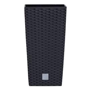Prosperplast Obal RATO SQUARE antracit 17x17x32,4 cm