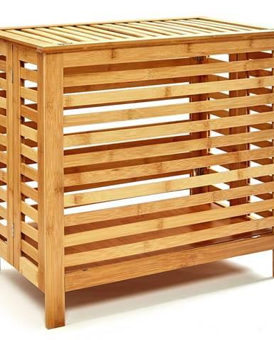 Blumfeldt Truhlica na bielizeň, vrchnák, vetracie otvory, bambus, nehrdzavejúca oceľ