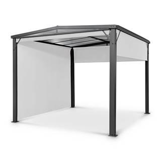 Blumfeldt Pantheon Cortina Solid Sky, pergola, prístrešok, 3 × 3 m, polykarbonát