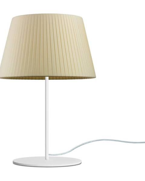 Sotto Luce Béžová stolová lampa Sotto Luce Kami, ⌀ 26 cm