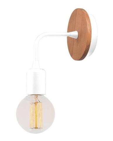 Biele nástenné svietidlo Homemania Decor Simple Drop