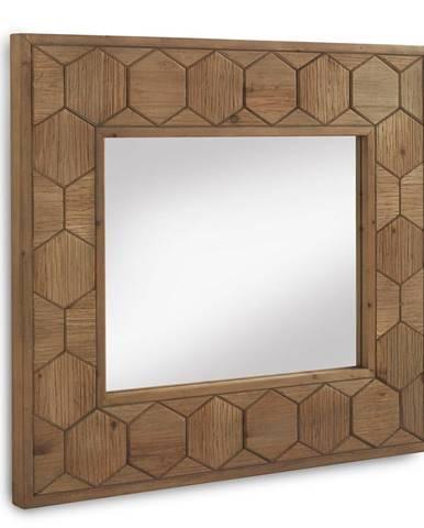 Nástenné zrkadlo Geese Honeycomb, 89 x 80 cm