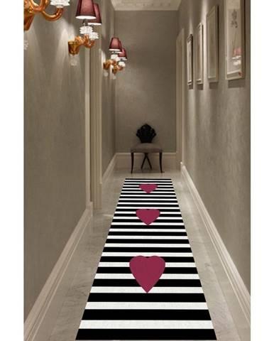 Koberec Rizzoli Heart, 80 x 200 cm
