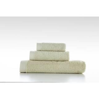 Súprava 3 zelených bavlnených uterákov El Delfin Lisa Coral