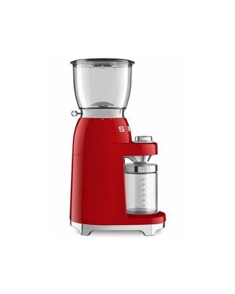 SMEG Červený mlynček na kávu SMEG 50&