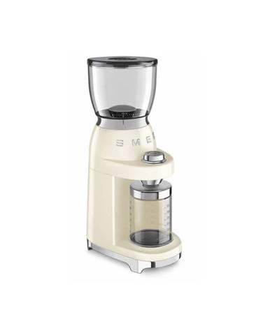 Béžový mlynček na kávu SMEG 50&