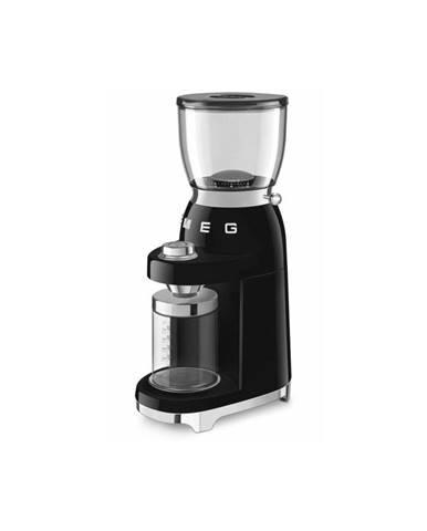 Čierny mlynček na kávu SMEG 50&