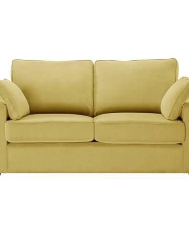 Žltá rozkladacia pohovka JaloMaison Serena