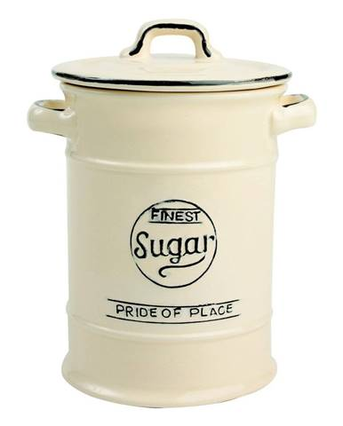 Krémovobiela keramická dóza na cukor T&G Woodware Pride of Place