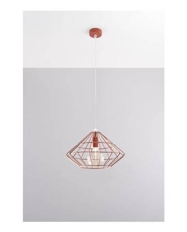 Stropné svietidlo v medenej farbe Nice Lamps Editta