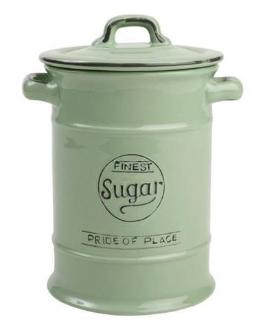 Zelená keramická dóza na cukor T&G Woodware Pride of Place, 1,25 l