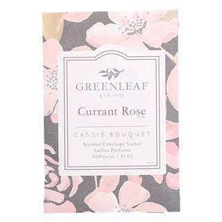 Vonné vrecúško Greenleaf Rose, 11 ml