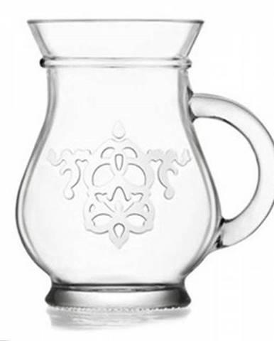 Hrnček/džbánik AYRAN, 330 ml, číry, sklo, sada 2ks