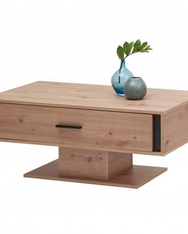 Konferenčný stolík KANADA čierna/dub artisan