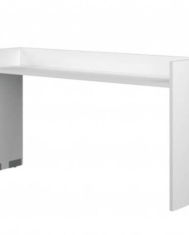 Stôl nad posteľ FLEX biela