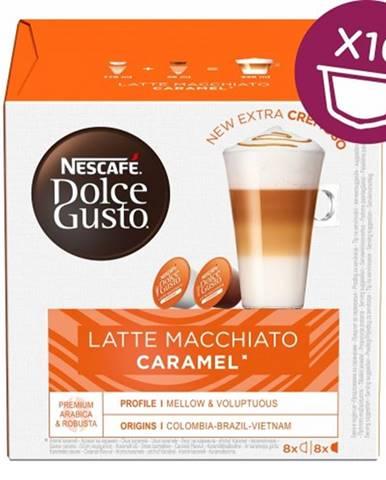 Kapsule Nescafé Dolce Gusto Latte Macchiato Caramel, 16ks