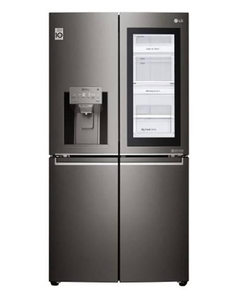 HP Americká 4-dverová chladnička LG GMX936SBHV POUŽITÝ, NEKOMPLETNÉ