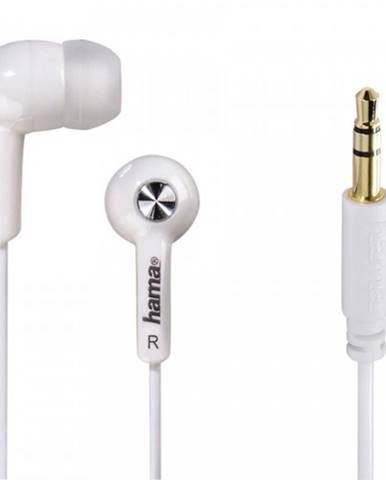 Slúchadlá do uší Basic4Music, biele
