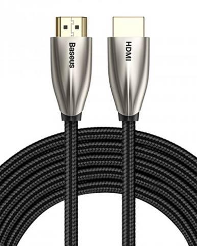 HDMI kábel Baseus Horizontl, 2.0, 5 m, čierny