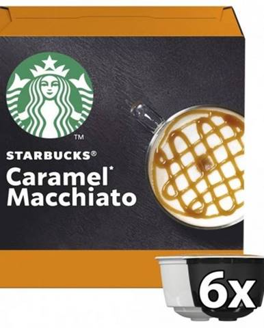 Kapsule Nescafé Starbucks Caramel Macchiato, 12ks