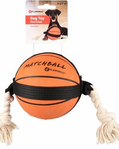 Flamingo Akčná basketbalová loptička 12,5 cm