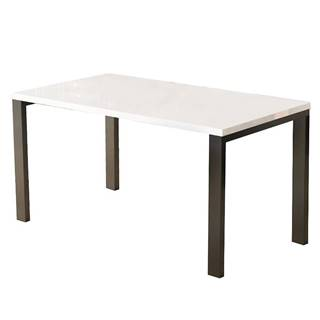 Jedálenský stôl Garant-175 Biely lesk
