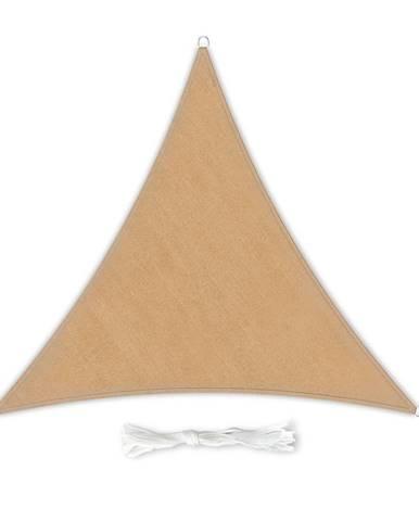 Blumfeldt Trojuholníková slnečná clona, 3 × 3 × 3 m, polyester, priedušná