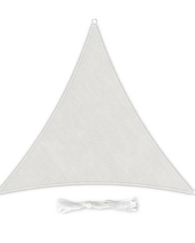 Blumfeldt Trojuholníková slnečná clona, 5 × 5 × 5 m, polyester, priedušná