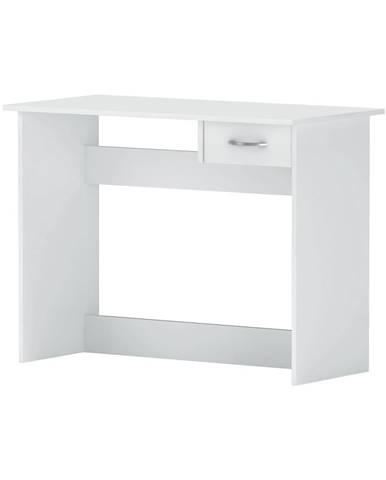 Písací stôl ALPIN biely
