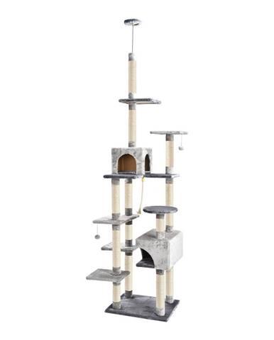 ALDO Škrabadlo pre mačky do stropu Miky 60x49x250-273 cm