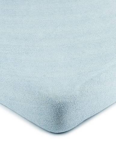 4Home froté prestieradlo svetlo modrá, 90 x 200 cm