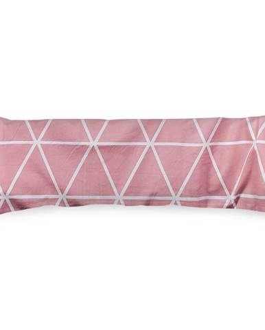 4Home Obliečka na Relaxačný vankúš Náhradný manžel Galaxy ružová, 45 x 120 cm