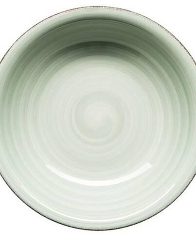Mäser Keramický hlboký tanier Bel Tempo 21,5 cm, zelená