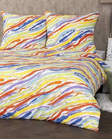 4Home Obliečky Rainbow micro, 140 x 220 cm, 70 x 90 cm