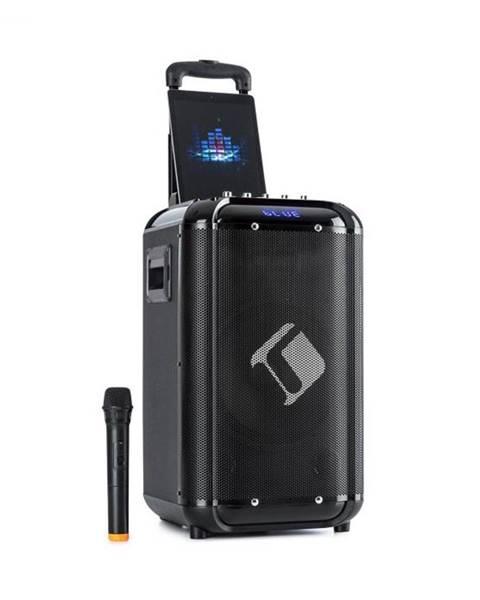"Auna Auna Moving 100, PA systém, 10"" woofer, 50/150 W, UHF mikrofón, USB, SD, BT, AUX, prenosný"