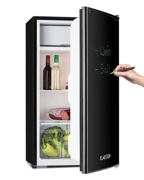 Klarstein Klarstein Spitzbergen Uni, 90 l, čierna, chladnička s mrazničkou, energetická trieda A+