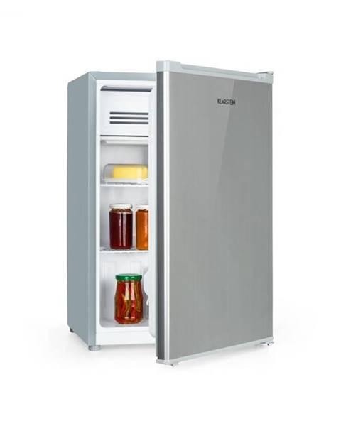 Klarstein Klarstein Delaware, chladnička, A++, 76 litrov, 4-litrová mraziaca časť, kompresia, strieborná/sivá