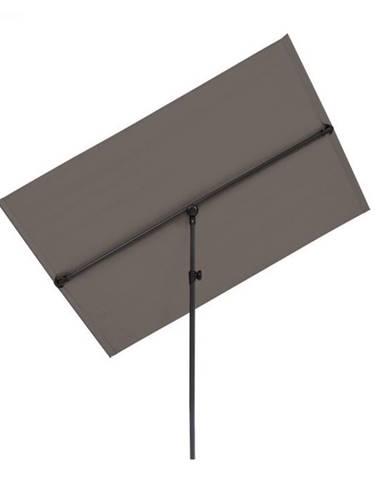 Blumfeldt Flex-Shade L, slnečník, 130 x 180 cm, polyester, UV 50, tmavosivý