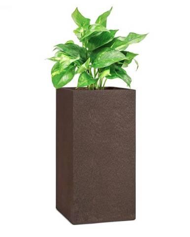 Blumfeldt Solid Grow Rust, kvetináč, 40 x 80 x 40 cm, fibreclay, hrdzavá farba