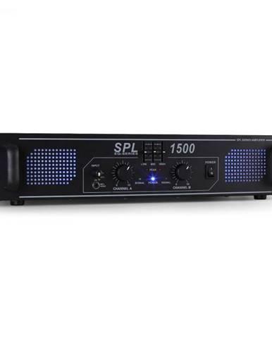 HiFi PA zosilňovač Skytec SPL-1500-EQ, LED svetelný efekt